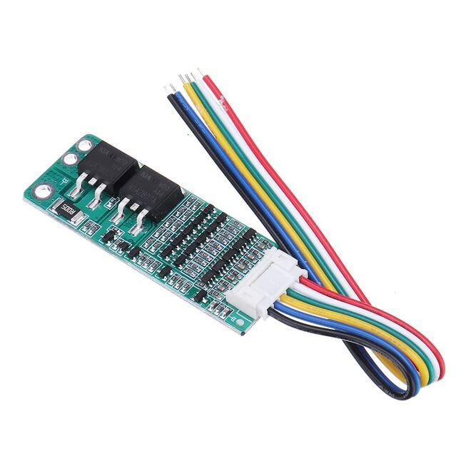 10A-15A 18650 Kablolu Lityum Pil Koruma Kartı - 18.5V 21V (Aşırı Şarj - Deşarj ve Aşırı Akım Koruması)