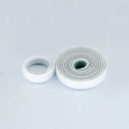 15mm Wide Velcro (loops & hooks integrated) 1 Meter White