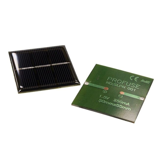 1.5V 250mA Solar Panel