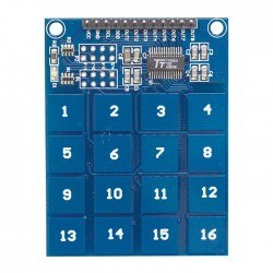 Robotistan - 16 Buttons Touch Keypad - Capacitive Buttons