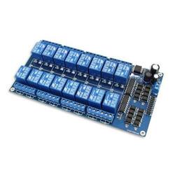Robotistan - 16 Way 12V Relay Module