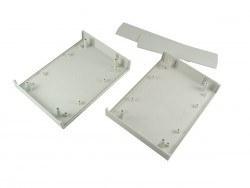 165 x 120 x 45 mm Proje Kutusu - DT-210 (Açık Gri) - Thumbnail