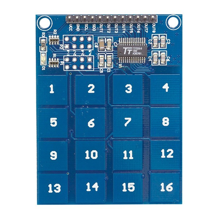 How I waste my time: Arduino code for TTP229 Touch 16 button