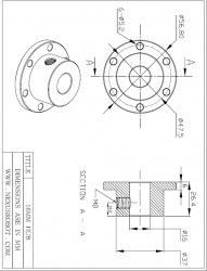 16 mm Alüminyum Göbek - Universal, 18012 - Thumbnail