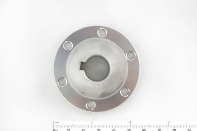 16 mm Kama Boşluklu Alüminyum Göbek - Universal, 18026