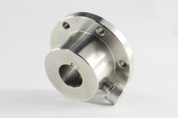16mm Stainless Steel Key Hub 18031 - Thumbnail