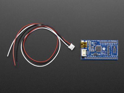 16x2 & 20x4 LCD Serial - USB Converter