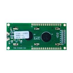 2x16 LCD Ekran - Yeşil Üzerine Siyah - TC1602A - Thumbnail