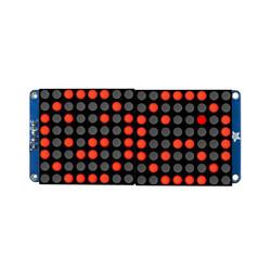 """16x8 1.2"""" I2C LED Matrix (Red) - Thumbnail"""