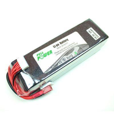 18.5 V Lipo Batarya 3400 mAh 25C