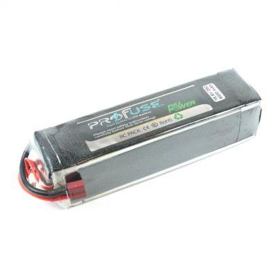 18.5 V 5S Lipo Batarya 6000 mAh 25C