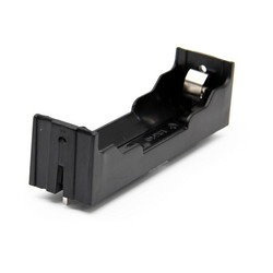 Robotistan - 18650 1-Slot Battery Holder (PCB Type - Long Pin)