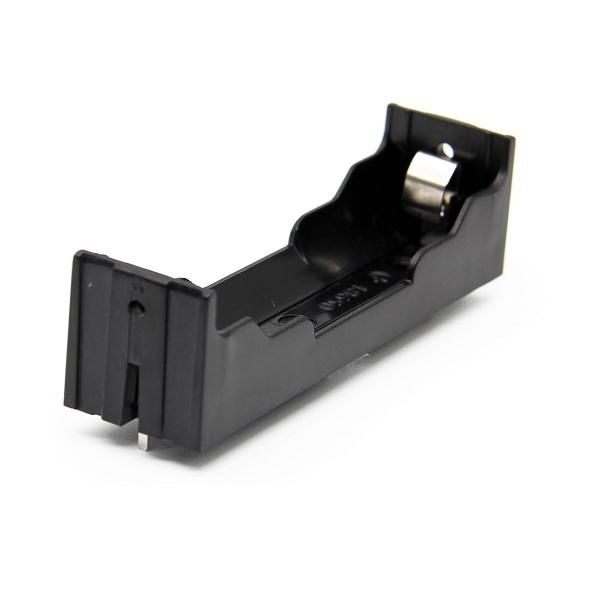 18650 1-Slot Battery Holder (PCB Type - Long Pin)