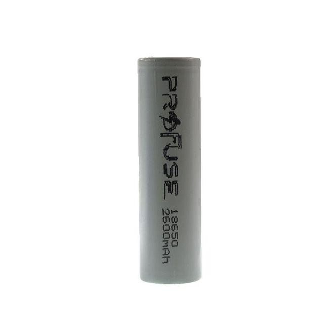 18650 3.7 V 2600mAh Li-ion Şarjlı Pil