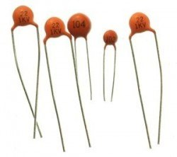 China - 1pF Ceramic Capacitor Package - 10 Units