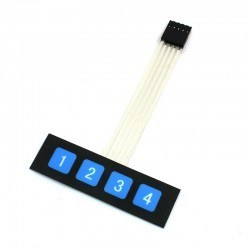 China - 1X4 Membran Keypad