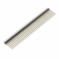 Robotistan - 1x40 15 mm 180 Derece Erkek Pin Header
