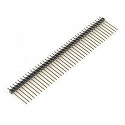Robotistan - 1x40 23 mm 180 Derece Erkek Pin Header