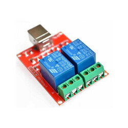 China - 2 Channel 5 V Relay Module - USB Interface