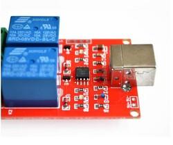 2 Kanal 5V Röle Kartı - USB Kontrollü - Thumbnail