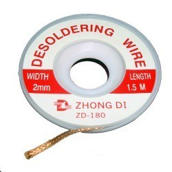 Marxlow - 2 mm Desoldering Braid - ZD - 180