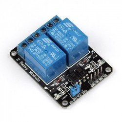Robotistan - 2 Way 12V Relay Module