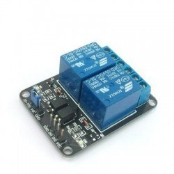Robotistan - 2 Way 5V Relay Module