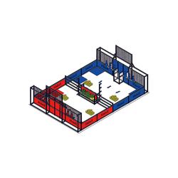 Makeblock - 2020 MakeX Challenge Akıllı Yenilikçi Arena Yükseltme Paketi (Mavi Gezegen İçin)