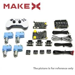 Makeblock - 2020 MakeX Challenge Akıllı Yenilikçi Yükseltme Paketi (Mavi Gezegen İçin)