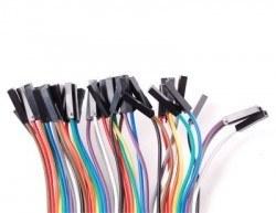 20cm 40 Pin M-F Jumper Wires - Thumbnail