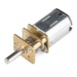 210:1 12 V 140 RPM Karbon Fırçalı Mikro Metal DC Motor - Thumbnail