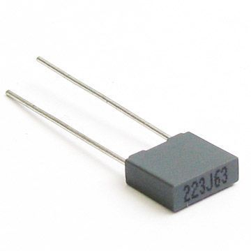 2.2nF 100V Polyester Capacitor Package - 5