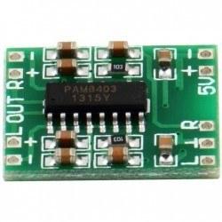 2*3 W Mini Amfi Devresi - PAM8403 - Thumbnail