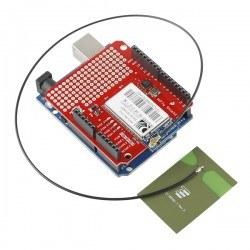 2.4 GHz Yapışkanlı Anten - u.FL Konnektör - Thumbnail
