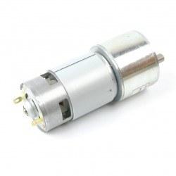 24 V 27 RPM Yüksek Torklu DC Motor - 50GB-775 - Thumbnail