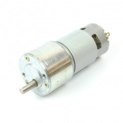 24V 27Rpm High Torque DC Motor - 50GB-775 - Thumbnail