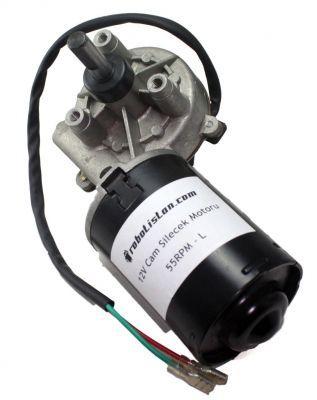 24 V 55 RPM Cam Silecek Motoru