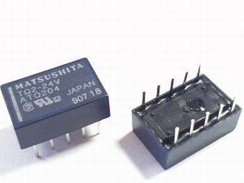 24V Double Contact Relay -TQ2-24V