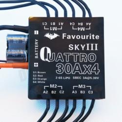 30Ax4 Quattro ESC - Dörtlü Fırçasız Motor Sürücü Modülü - Thumbnail