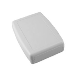 Proje Kutusu - 26x72x104mm Hand Type Storage Box (Light Grey)