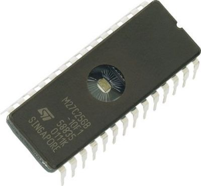 27C512 - DIP28 EEPROM Entegre