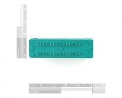 28 Pin Zif Socket - Thumbnail