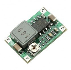 2 A Mini Ayarlanabilir Voltaj Düşürücü Regülatör Kartı - Thumbnail
