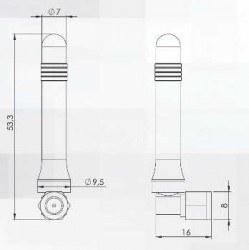 2J010 - Harici GSM Anten - Thumbnail
