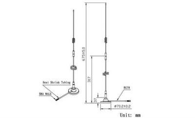 LTE-G-825 - Harici GSM Anten