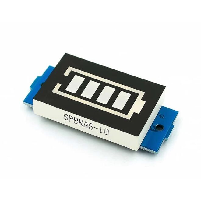2S 18650 Li-po Lityum Pil Kapasite Gösterge Modülü