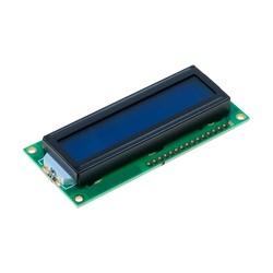 Robotistan - 2x16 LCD Ekran, Mavi Üzerine Beyaz - TC1602