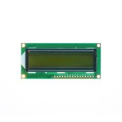 Robotistan - 2x16 LCD Ekran - Yeşil Üzerine Siyah