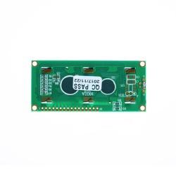 2x16 LCD Ekran - Yeşil Üzerine Siyah - Thumbnail