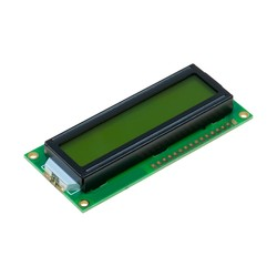 Robotistan - 2x16 LCD Screen - Black Over Green - TC1602A